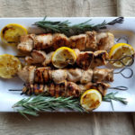 Rosemary Ranch Grilled Chicken Kebab