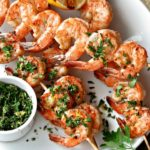 Grilled Garlic & Herb Shrimp