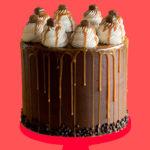 Mars Bar Chocolate Cake